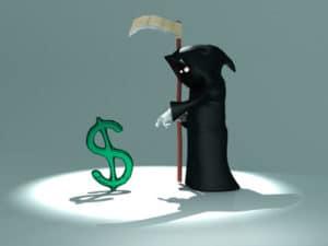 Dollar death default