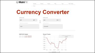 MahiFX Currency Converter