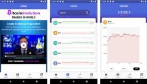 Bitcoin Evolution Mobile App