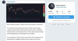Cryptosignals.org Trading Signal