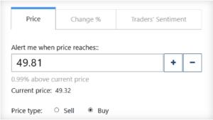 Plus500 Price Alerts
