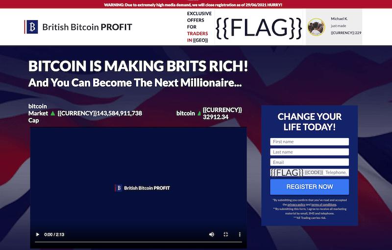 British Bitcoin Profit Open an account
