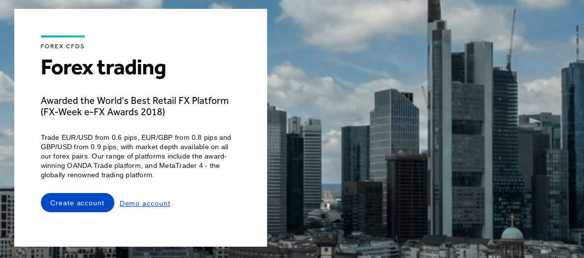 oanda review forex