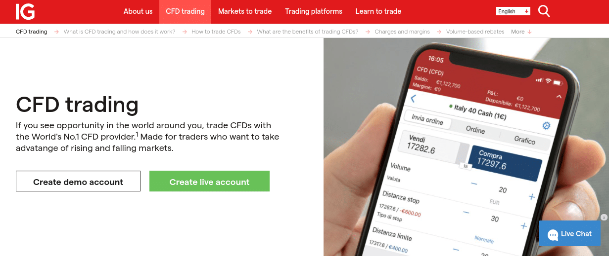 ig cfd trading
