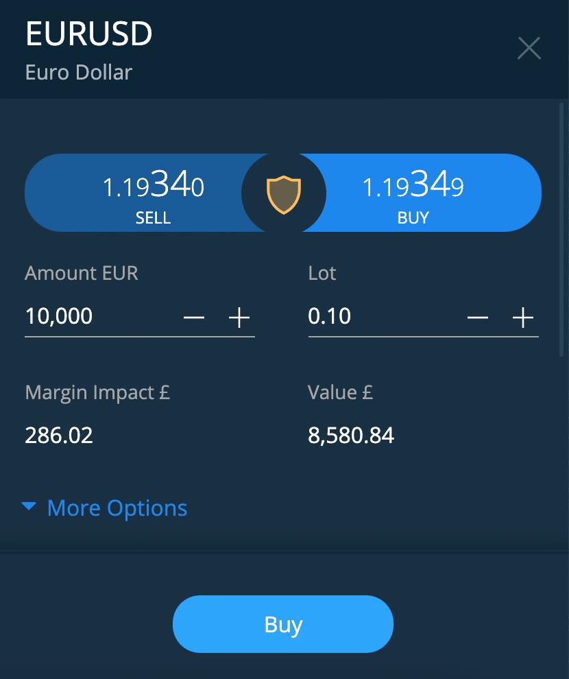 buy eur/usd canada