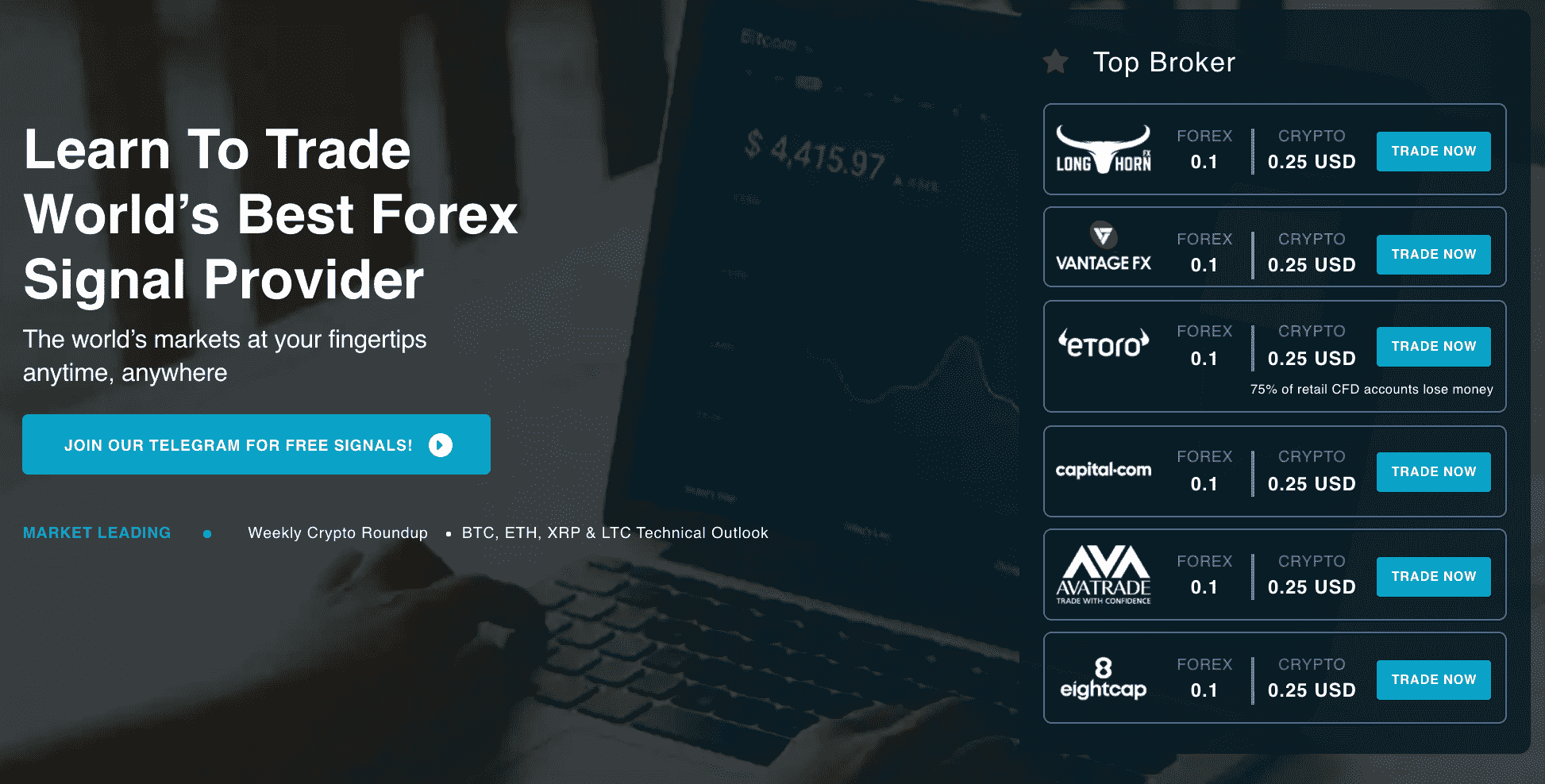 Best Forex Signal Provider