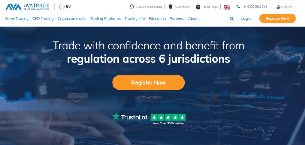 AvaTrade best forex brokers in thailand