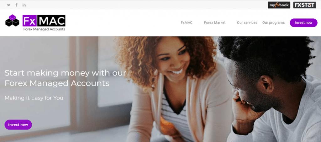 FxMAC forex managed account