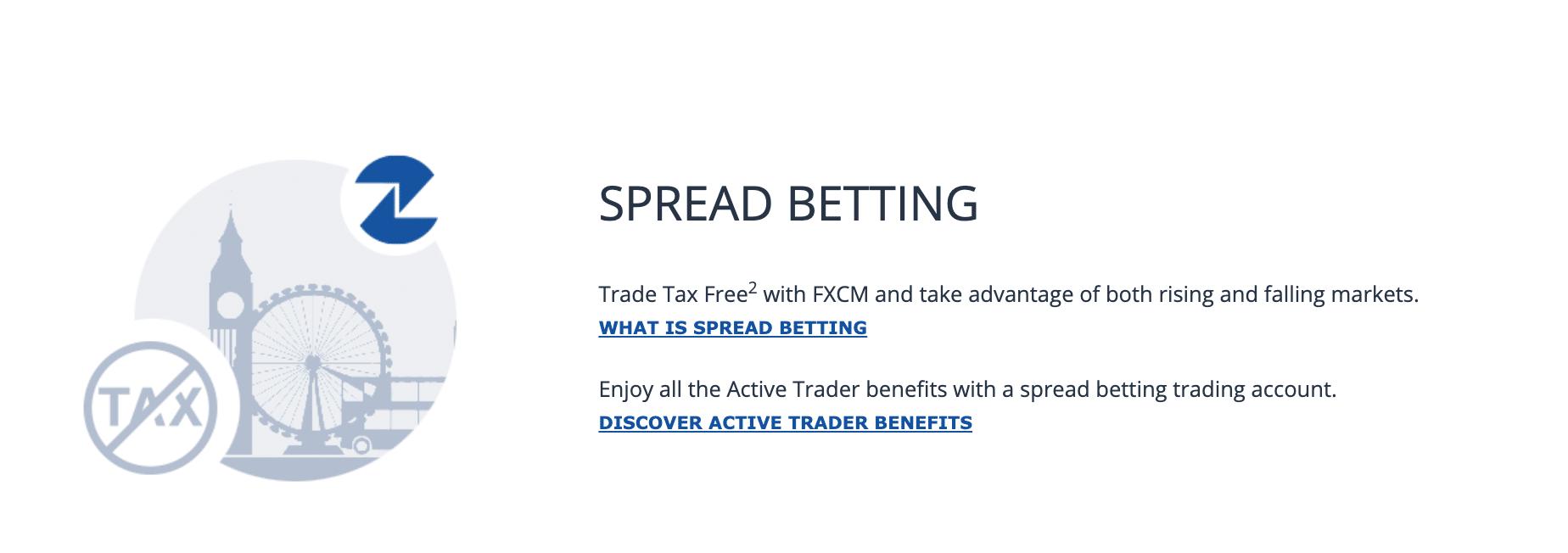 fxcm spread betting