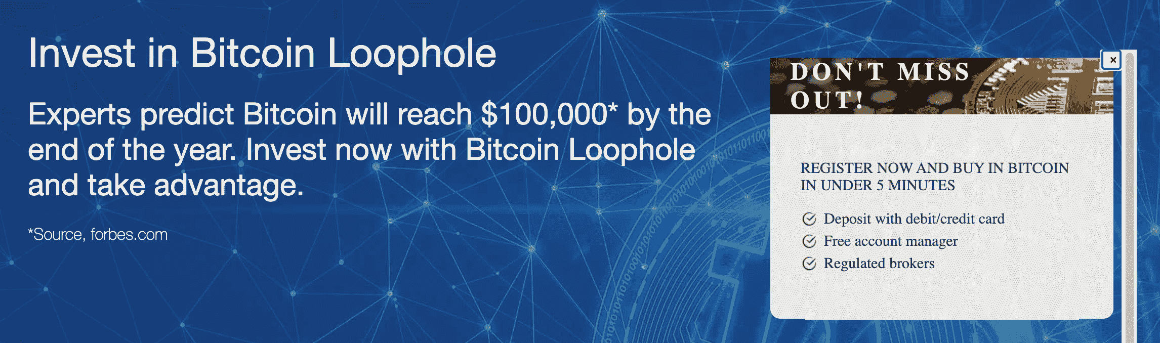 bitcoin loophole crypto robot