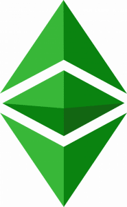 Ethereum price logo