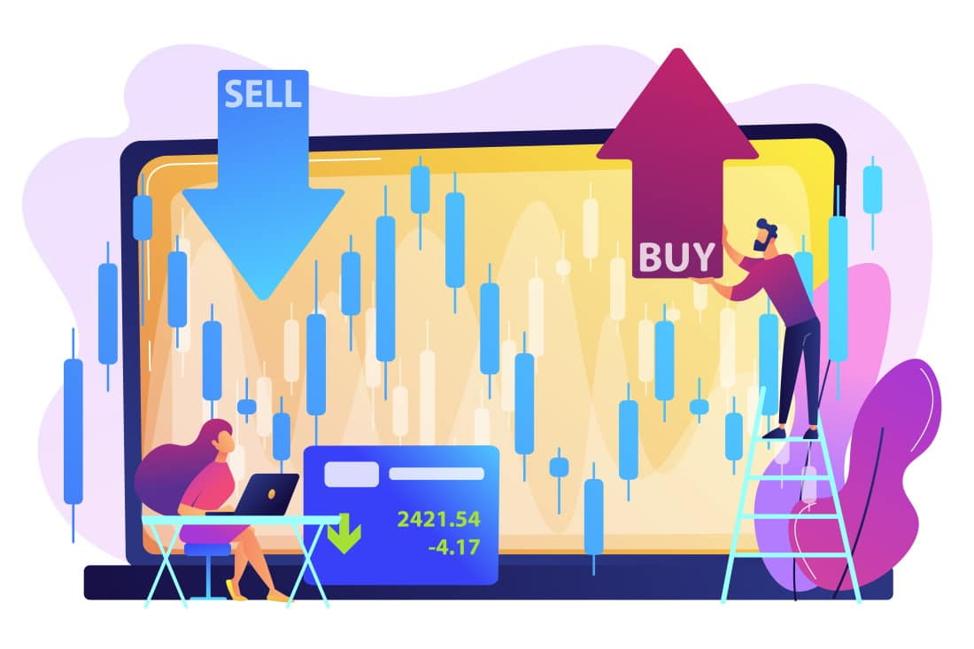 Buy and Sell forex trading