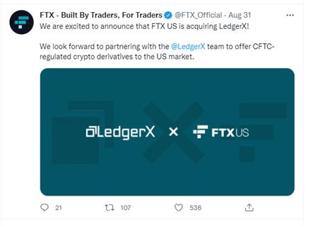 FTX Token Price Exchange Tweet